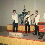 Joel with Ivey's League Band